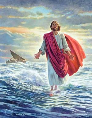 Tại Sao Chúa Giêsu Đi Trên Mặt Biển?