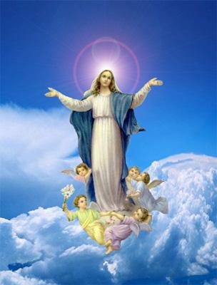 Ngày 15/08: Lễ Đức Mẹ Hồn Xác Lên Trời